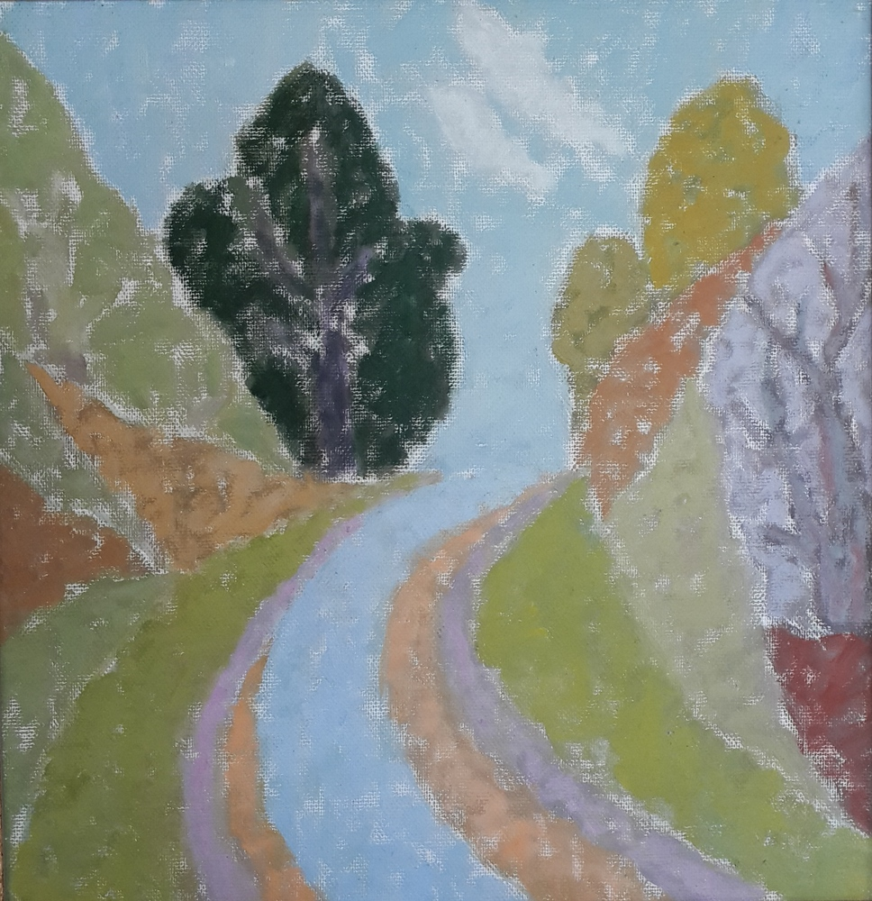 lot 3. «Road in the mountains»