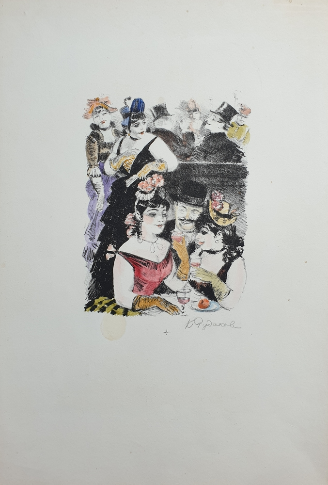 lot 1. «Illustration for the stories of Maupassant»
