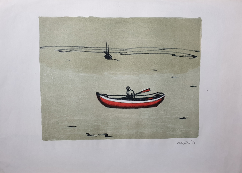 lot 11. «In the boat»