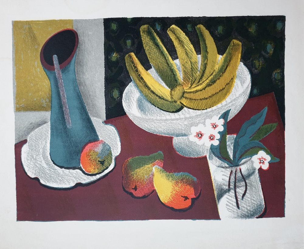 lot 116. «Still life with bananas»