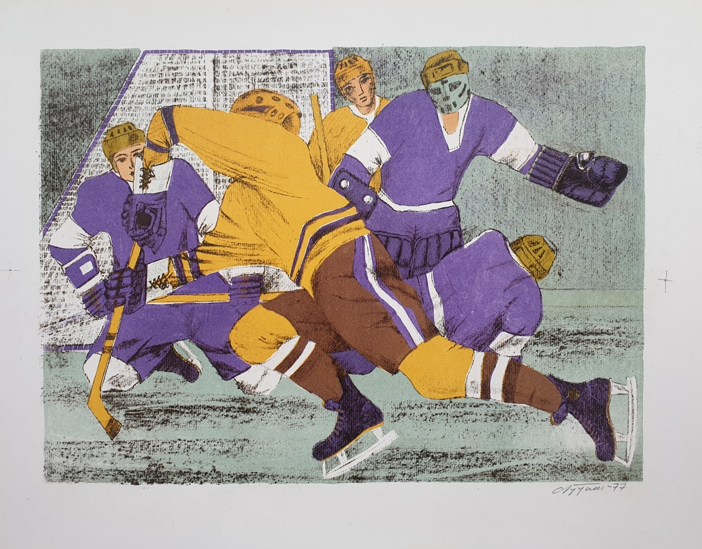 lot 47. «Hockey Series»
