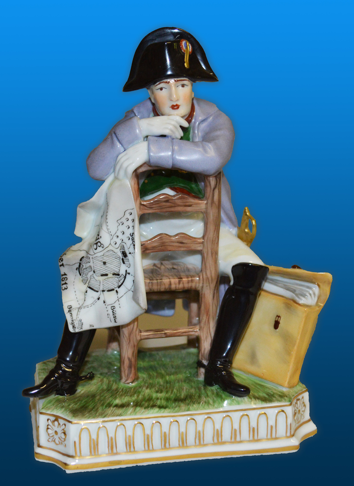 Napoleon I sitting on a chair