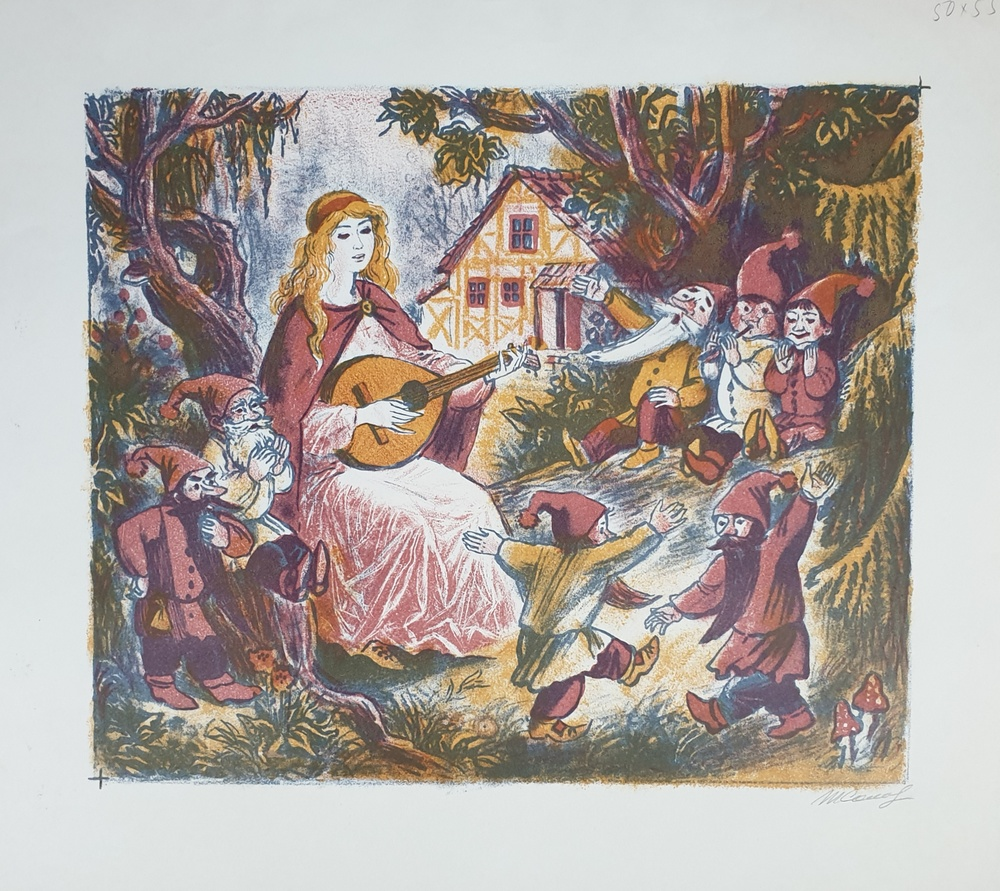 lot 14. «Snow White and the Seven Dwarfs»